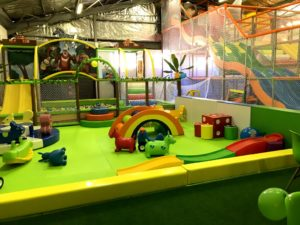 warehouse play area