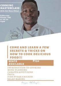 September Cooking Matserclass