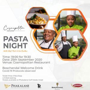 Pasta Night in September