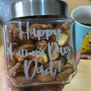 Father's Day Nutty jar