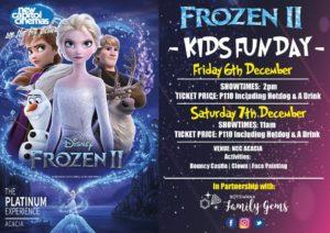 Frozen movie December