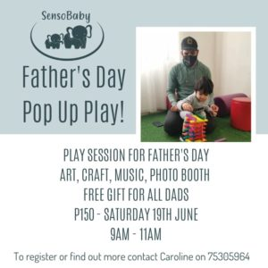 Father's Day Pop Up Play
