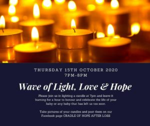 candle lighting for  miscarriage, stillbirth and infant loss in Botswana