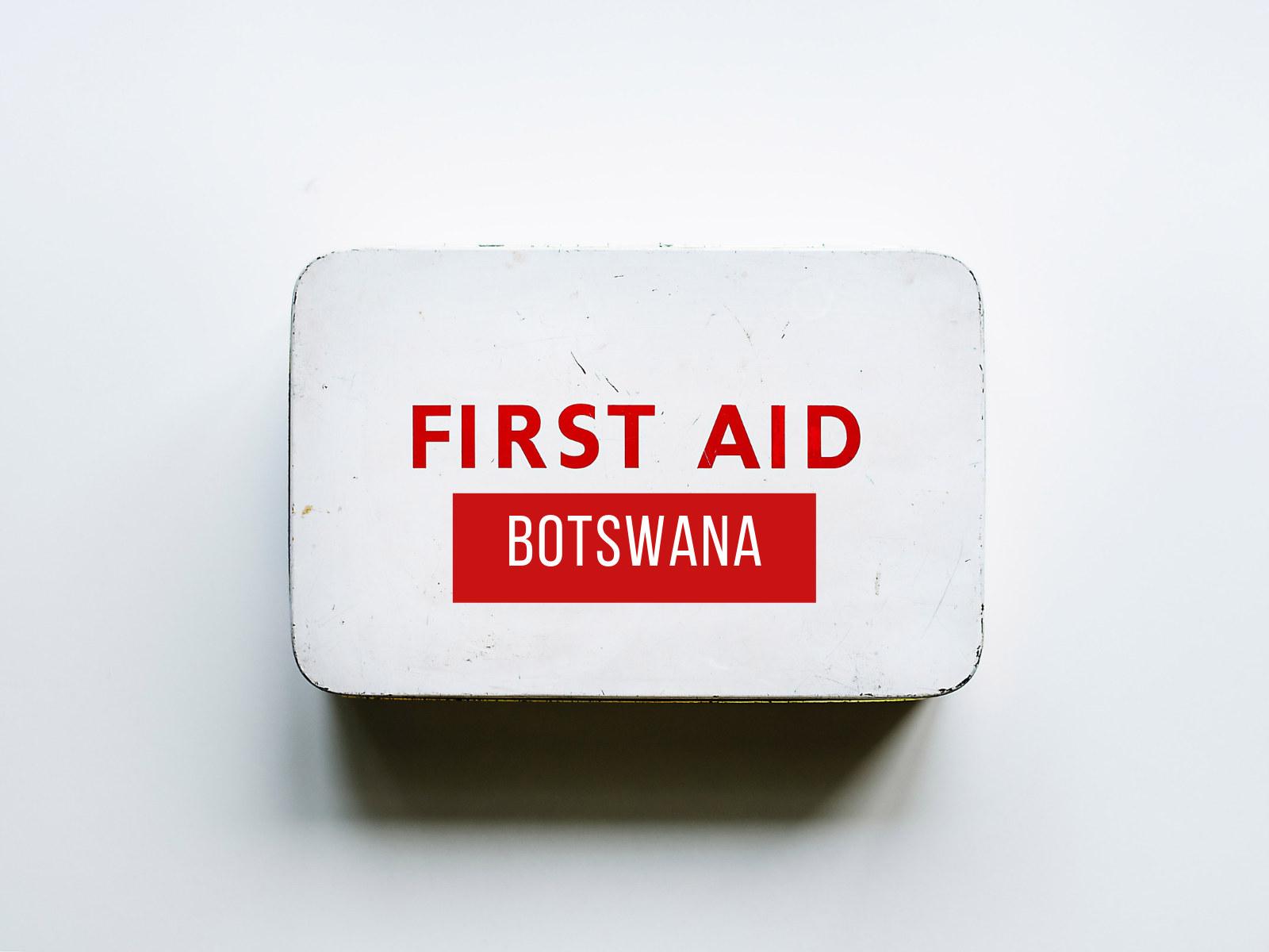 Botswana First Aid app