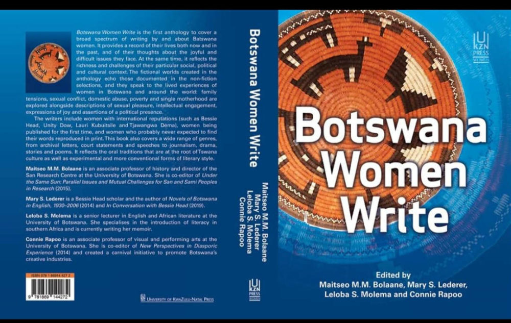 Botswana Women Write Book Cover
