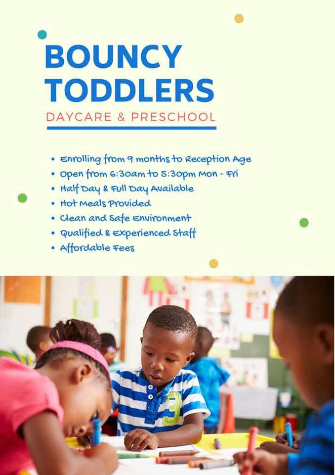Bouncy Toddlers Daycare & Preschool