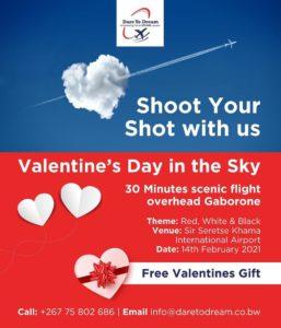 Dare to Dream Valentine's Day Gift in Botswana