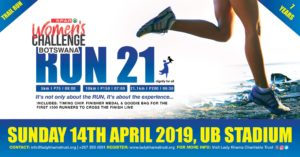 Events Botswana Lady K Trail run April