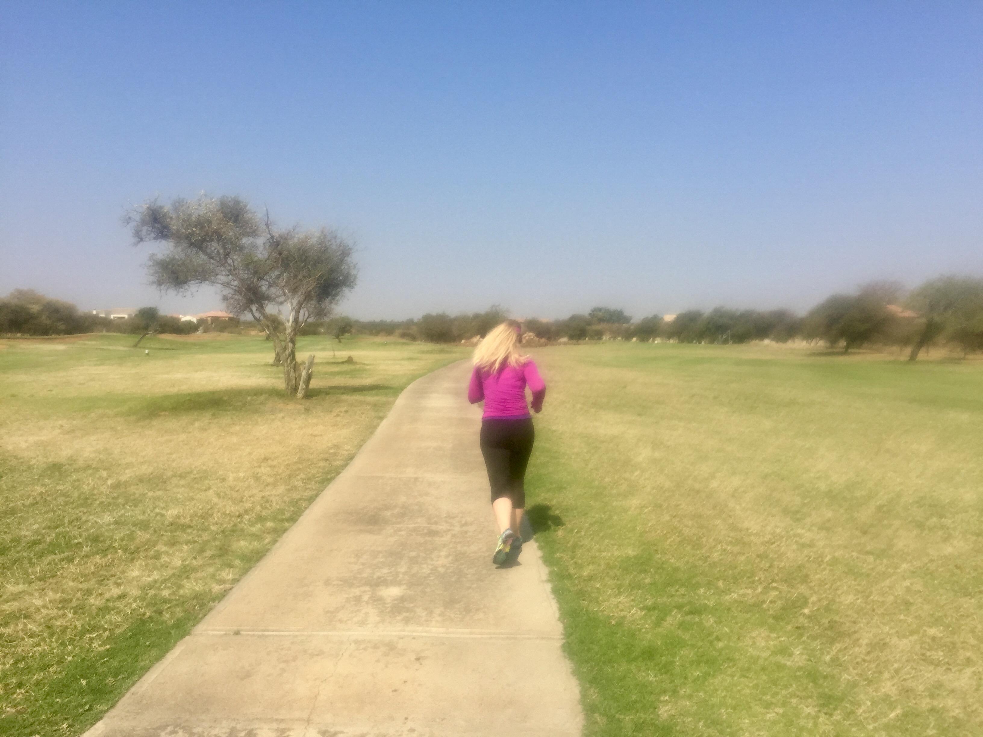 Running in Gaborone