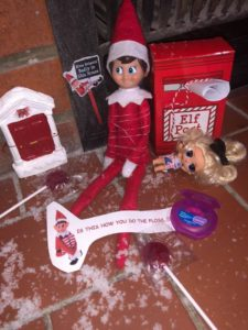 Fun and Games with The Elf on the Shelf in Botswana
