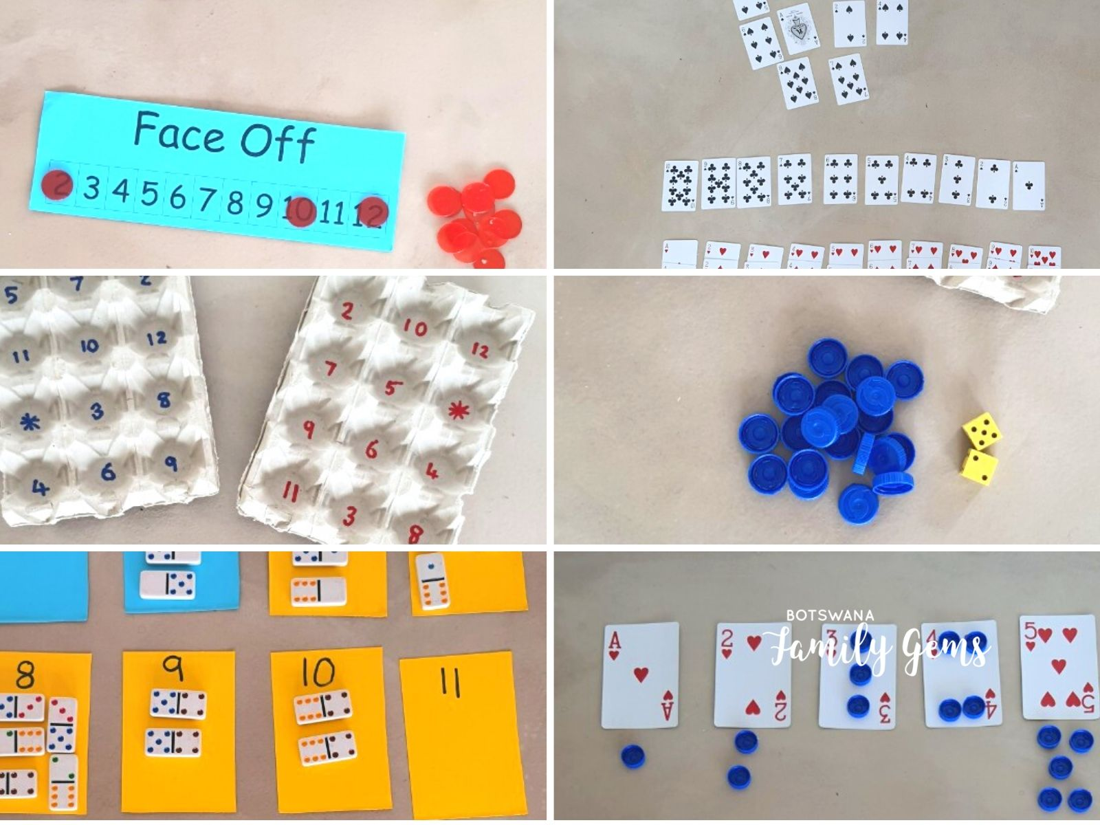 Math games for foundation phase Botswana