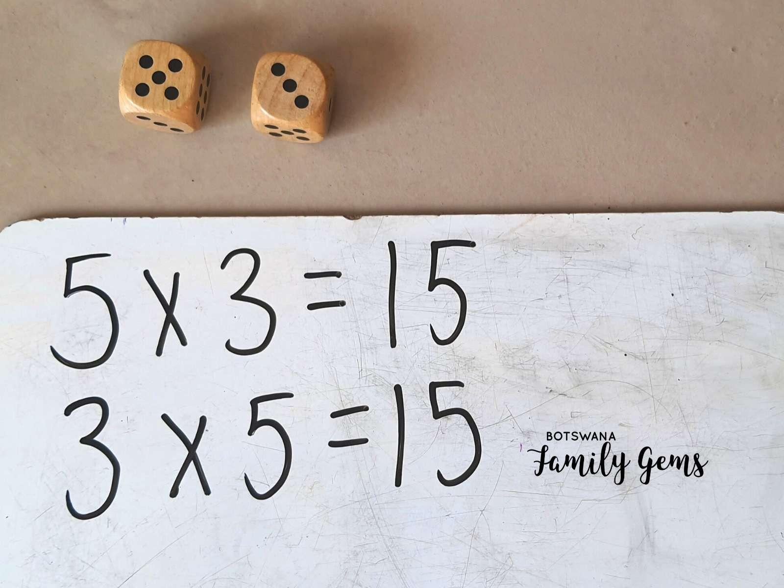 Educational maths games for Botswana lockdown