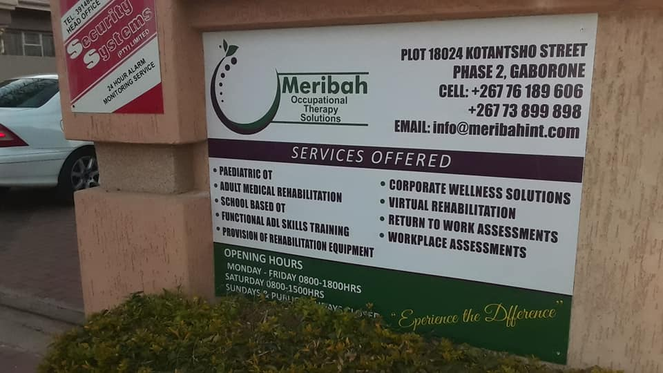 Meribah Occupational Therapy Solutions