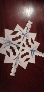 Paper Snowflakes Christmas Decorations
