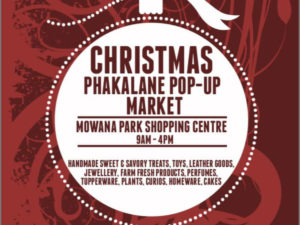 Phakalane Pop up christmas market