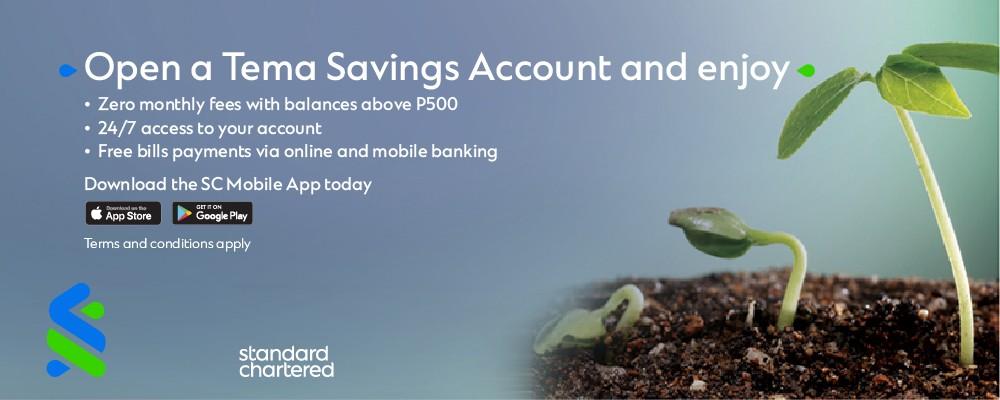 Standard Chattered Bank Botswana Tema Savings Account