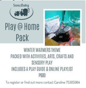 winter activities at home in Botswana