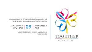 Together For A Cure in November