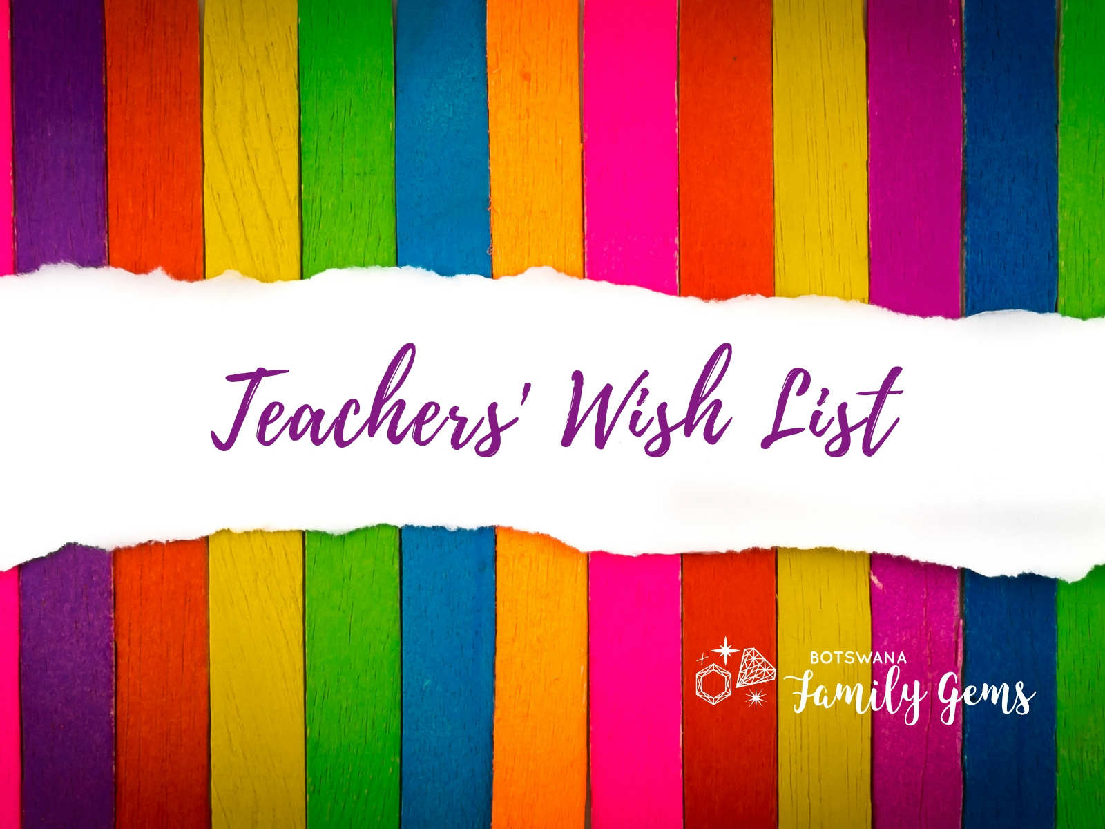 Teachers wish list for students