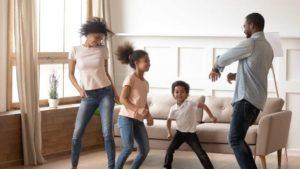 Virtual Hangouts Dance Party