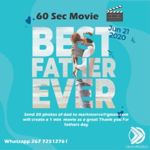 Fathers Day in Gaborone 2020