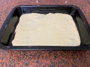 Think crust pizza dough from bokomo flour
