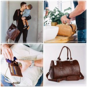 Father's day Leather bags