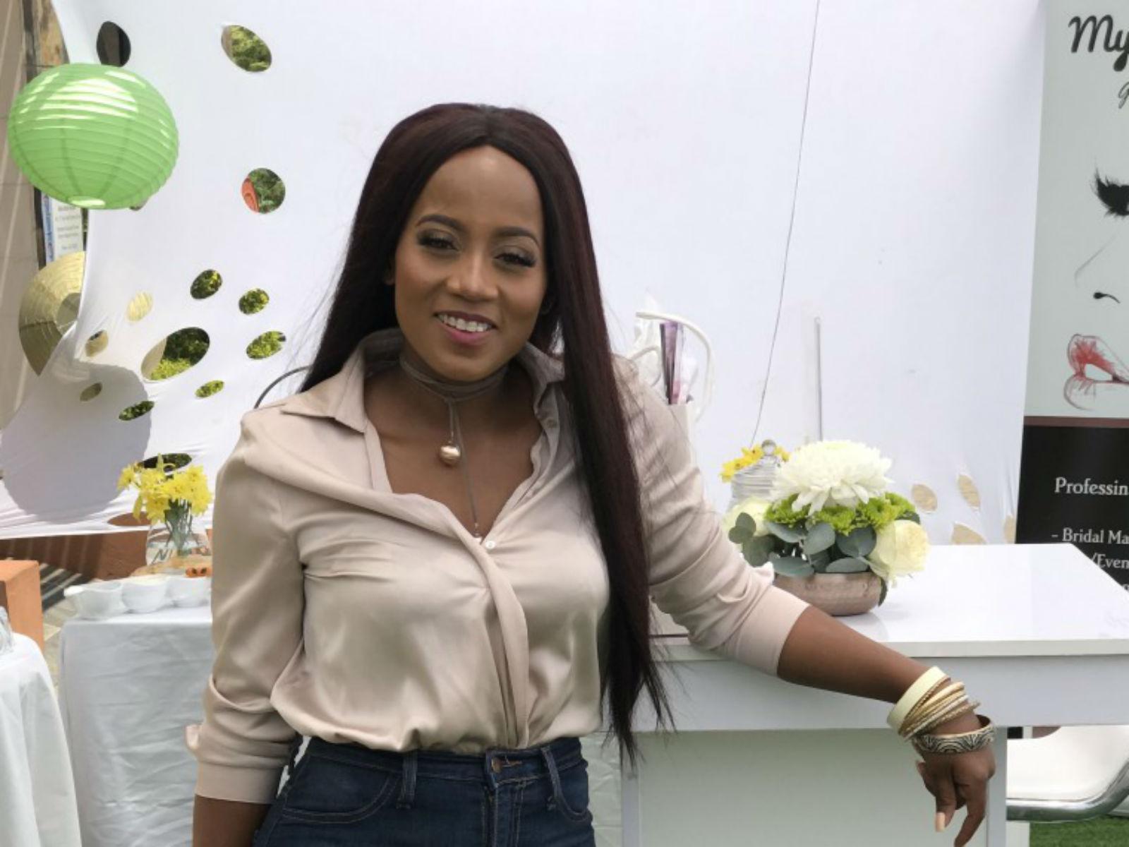 anita baliki 1 young mama botswana