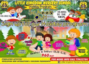 Little Kingdom Holiday Programme
