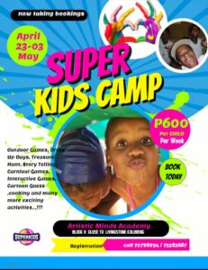 Holiday Programme at Artistic Kids Academy Super kids camp