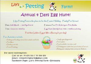 lily's easter egg hunt