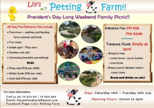 Lilys Petting farm events in July