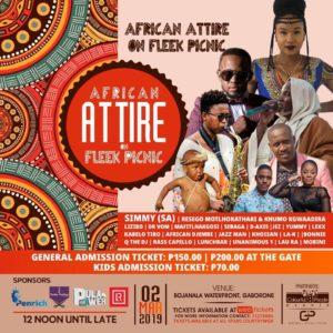 African attire on fleek picnic