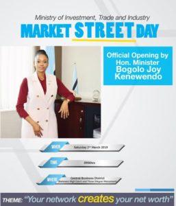 Market Street Day Gaborone