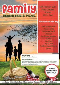 Family picnic and health fair