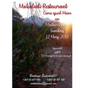 Mokolodi on Mother's Day 2019