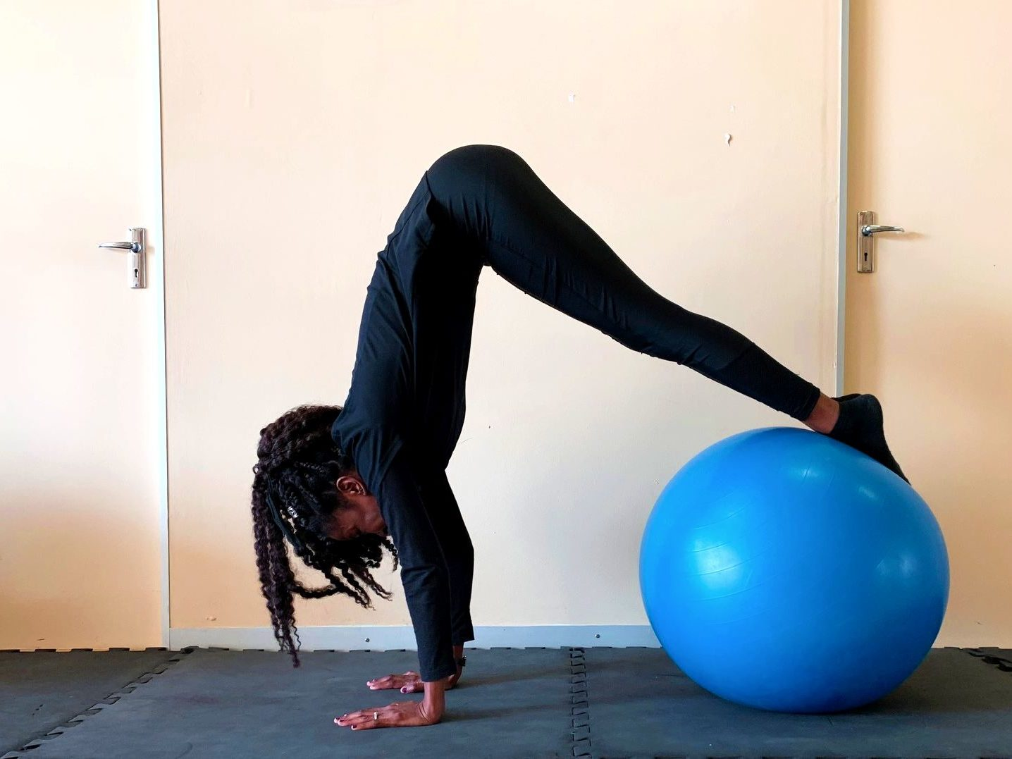 Pilates in Gaborone.