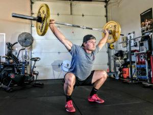squats for burning fat