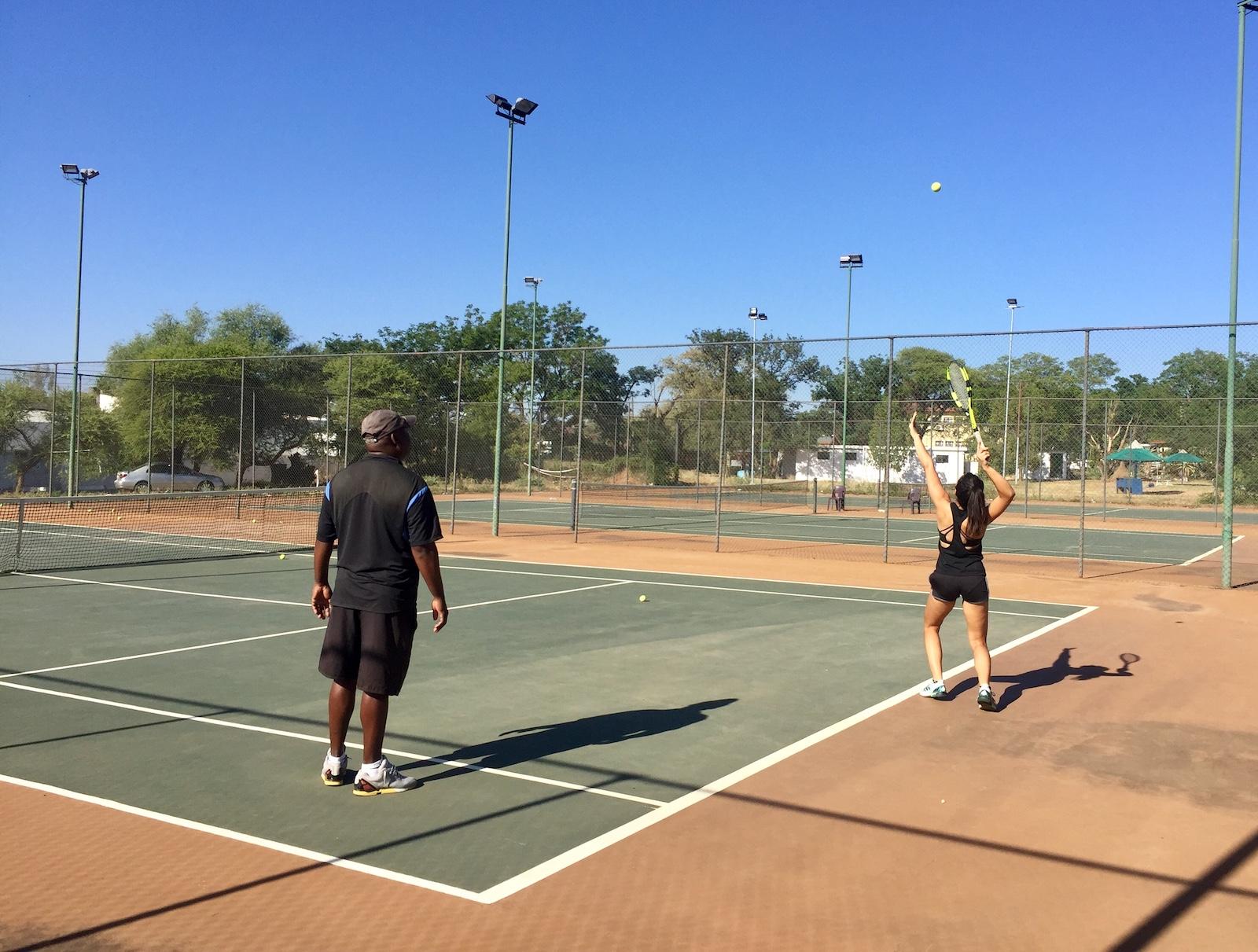 tennis in Gaborone