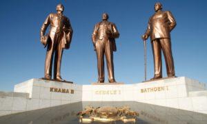 Three Chiefs Monuments Botswana