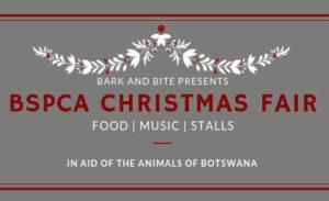 Bspca Christmas fair 2018